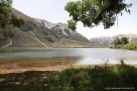 Lake Pearson an der West Coast Road auf dem Weg zum Arthur's Pass