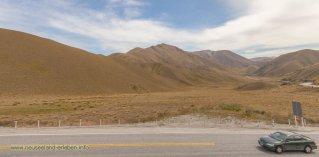 Der Lindis Pass mit Aussicht