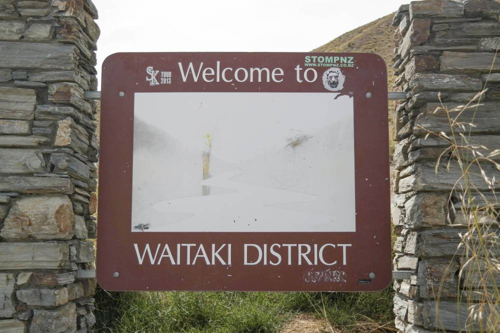 Waitaki District - Lindis Pass