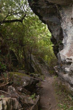 Aufstieg zum Rocky Mountain