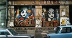 Projekttheater in den frühen 1990ern - Foto: Andreas Plundrich