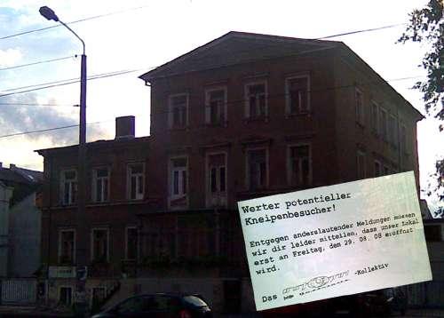 """""""Ostpol"""" am Westende der Neustadt"""