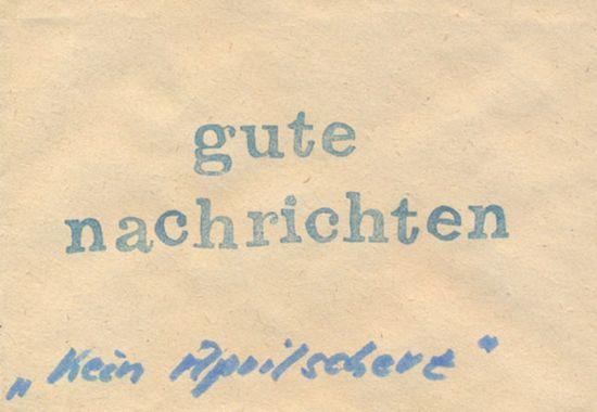 Brief ans Neustadt-Geflüster