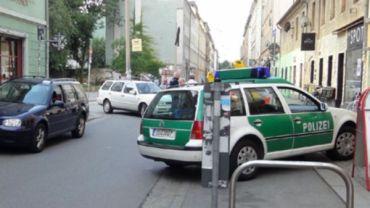 Böser Unfall auf der Alaunstraße