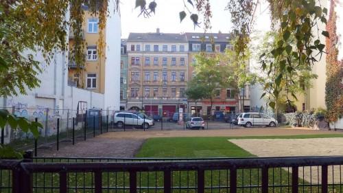 Neuer Sandkasten auf der Louisenstraße