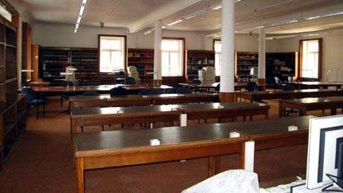 Klassenzimmer in der neuen Grundschule