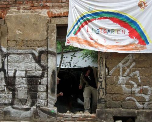 Eingang zum Lustgarten zur BRN 2008
