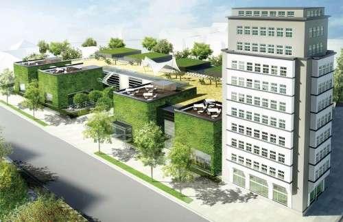 Selbe Hülle, neuer Inhalt - Verkaufsfläche soll nur noch 5.800 m² betragen. Visualisierung: Simmel Dresden GmbH.