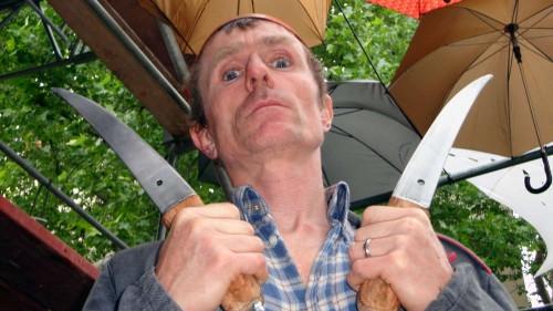 Messerscharfe Schau mit Georg Traber