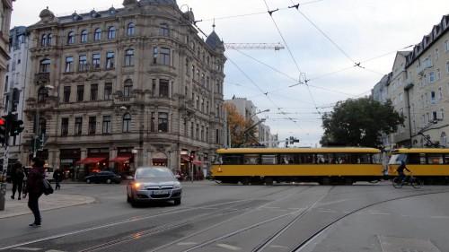 Die Kreuzung Bautzner/Hoyerswerdaer Straße wird umgestaltet.