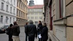 Falk Lorenz erklärt die Neustadt.