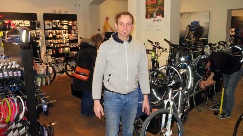 """Verlässt die """"Rothenburger"""" mit einer gehörigen Portion Wehmut: Bikeland-Chef Sascha Menger"""