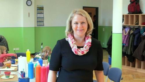 Schulleiterin Silke Nebe freut sich: Die Genehmigung ist endlich da - Foto: Archiv