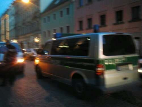 Binnen Minuten war die Polizei mit vier Einsatzwagen vor Ort
