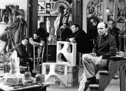 "Produktionsgenossenschaft ""Kunst am Bau"" - Foto: PR/Weidauer 1967"