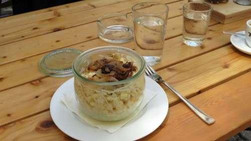 Käsespätzle im Einmach-Glas
