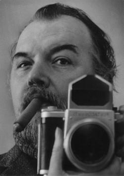Selbstportrait Sigfried Huth, 1980