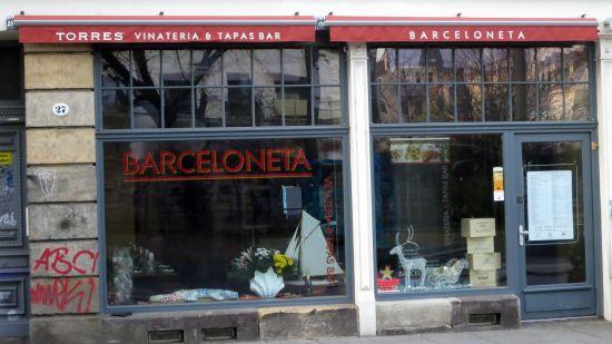 Barceloneta auf der Alaunstraße