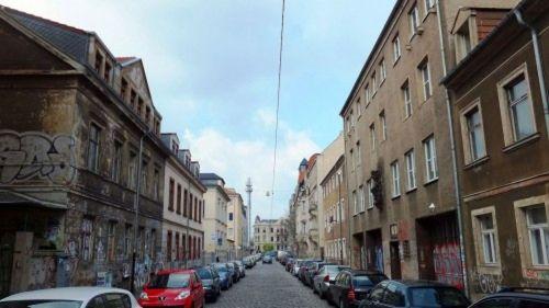 Auf der rechten Seite: die Alte Feuerwache