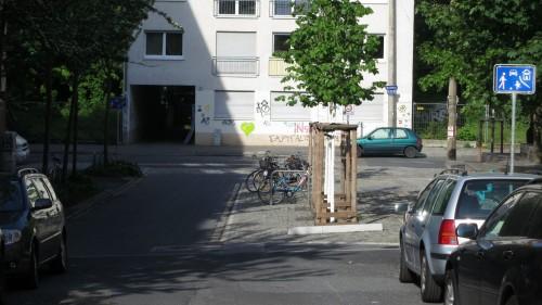 Die Ottostraße bekommt  eine neue Asphaltdecke.