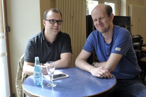 Das Gespräch fand im Café Neustadt statt.