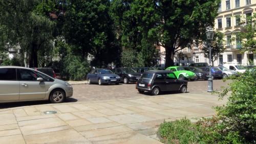 Vor dem Haupteingang der Kirche kann künftig nicht mehr geparkt werden.