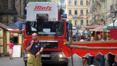 Feuerwehrrundfahrt während der BRN - Foto: Archiv 2014