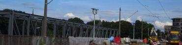 Ab morgen früh fährt keine Bahn mehr über die Albertbrücke