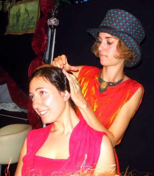 Haarpflege á la Schaubude