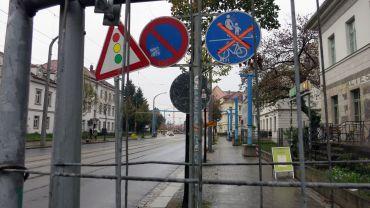Auch nach dem Turnerweg ist Radweg noch gesperrt.