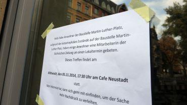 Heute, um 17.30 Uhr im Café Neustadt