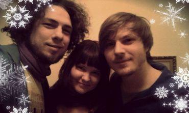 Falko, Enna und Ludwig