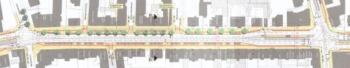 Die legendäre Variante 1 zum Ausbau der Königsbrücker Straße - jetzt wird sie umgesetzt.