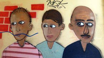 Durchgangs-Kunst an der Fritz-Hoffmann-Straße
