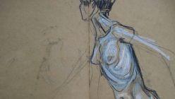 Auschnitt aus einer Zeichnung von Susanne Bartel