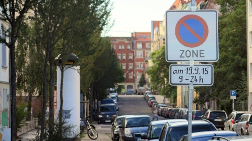 Rudolf rockt am Sonnabend. Ab dem Vormittag bitte die Straße frei halten.