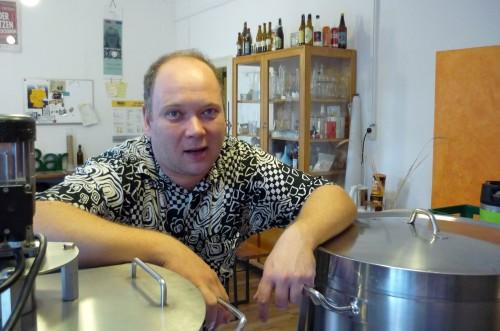 """""""Lenin"""" in seiner Brauerei"""
