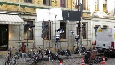 "Dreharbeiten zu ""Schubert in Love"""