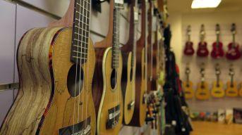 Gitarren-Wand