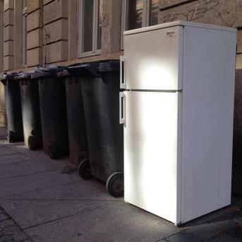 Gefrier-Müll-Kombi