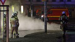 Brand auf der Bautzner Straße - Foto: R. Halkasch