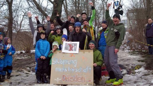 Insgesamt 16 Teilnehmer, diesmal keine Frau, kämpften um den noch nicht fertig gestellten Wanderpokal.