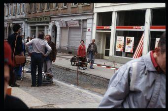 Alaunstraße im Bau - Foto: Lothar Lange