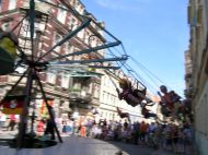 Verboten: Karussel auf der Louisenstraße