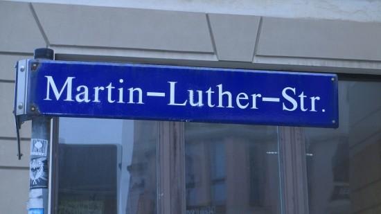 Die Martin-Luther-Straße hieß erst Martinsstraße - nach einem Schankwirt
