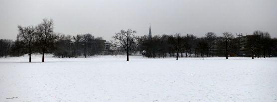 Alaunplatz im Januar 2013