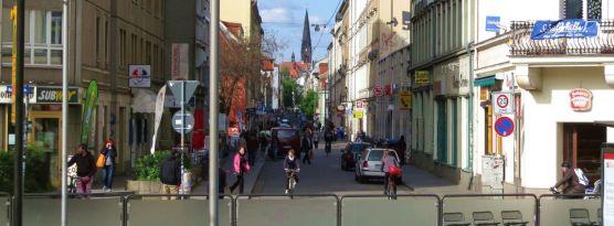 Alaunstraße im Mai 2013