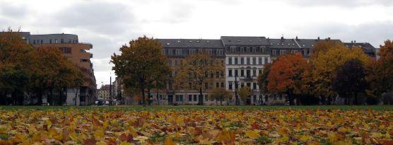 Alaunplatz Oktober 2015