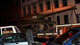 Panzer in Dresden Neustadt
