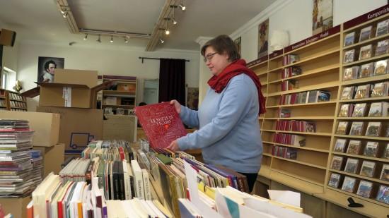 Susanne Paulus liebt Musik und verkauft sie.